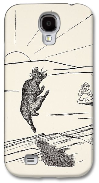 Old Man Kangaroo Galaxy S4 Case by Rudyard Kipling