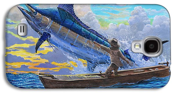 Old Man And The Sea Off00133 Galaxy S4 Case