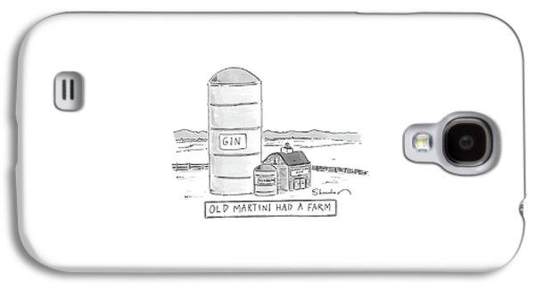 Old Martini Had A Farm Galaxy S4 Case