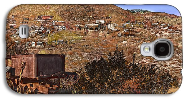 Old Mining Town No.24 Galaxy S4 Case by Mark Myhaver