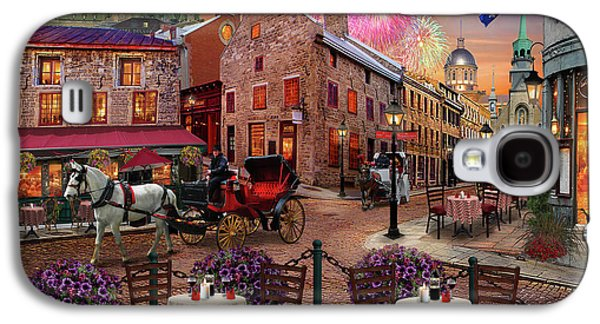 Old Montreal Galaxy S4 Case by David M ( Maclean )