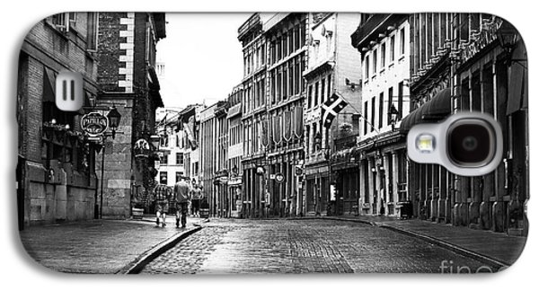 Old Montreal Streets Galaxy S4 Case by John Rizzuto