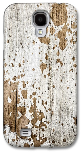 Old Painted Wood Abstract No.3 Galaxy S4 Case by Elena Elisseeva