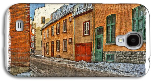 Old Quebec City Galaxy S4 Case