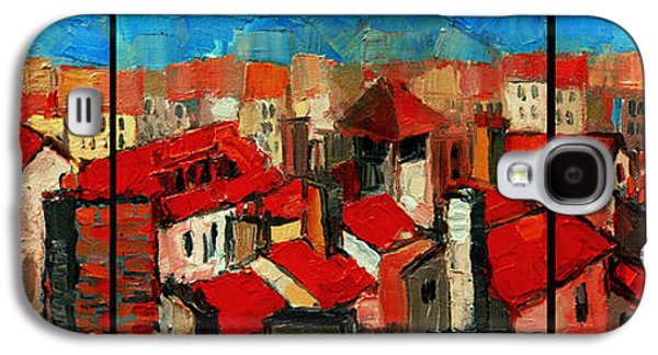 Old Roofs Of Lyon Galaxy S4 Case