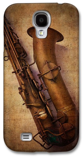 Saxophone Galaxy S4 Case - Old Sax by Garry Gay