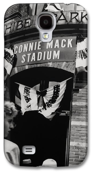 Old Shibe Park - Connie Mack Stadium Galaxy S4 Case by Bill Cannon