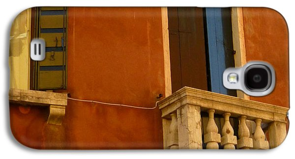 Venetian Old Sienna Walls  Galaxy S4 Case by Connie Handscomb