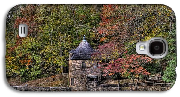 Galaxy S4 Case featuring the photograph Old Stone Tower At The Edge Of The Forest by Jonny D