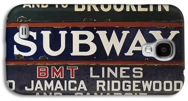 Old Subway Signs Galaxy S4 Case