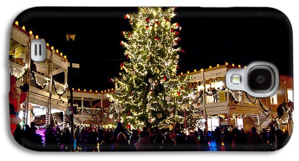 Old Town Christmas Tree Galaxy S4 Case by Don Durante Jr