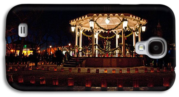 Old Town Luminarias And Bandstand Galaxy S4 Case by Don Durante Jr