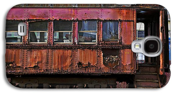Old Train Car Galaxy S4 Case by Garry Gay