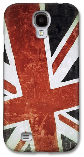 Old Uk Flag Galaxy S4 Case