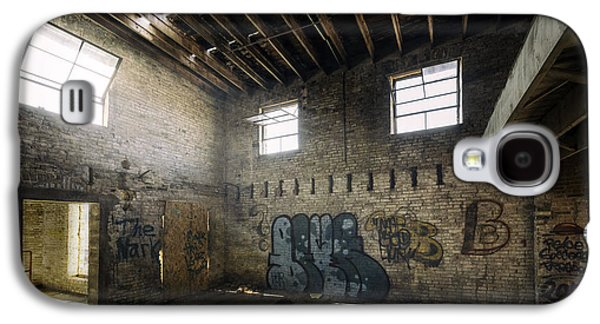 Old Warehouse Interior Galaxy S4 Case by Scott Norris