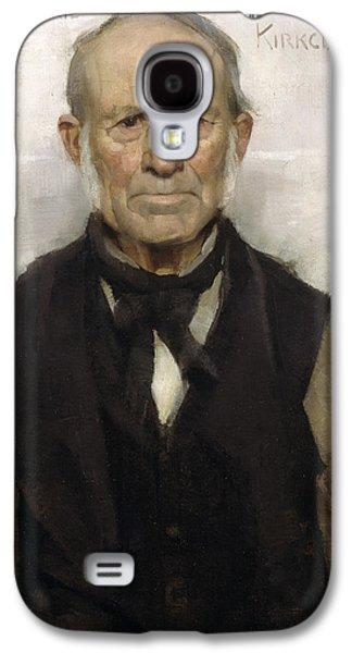 Old Willie - The Village Worthy, 1886 Galaxy S4 Case by Sir James Guthrie