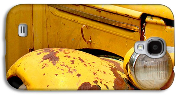 Old Yellow Truck Galaxy S4 Case by Art Block Collections