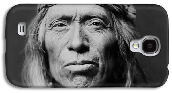 Portraits Galaxy S4 Case - Old Zuni Man Circa 1903 by Aged Pixel