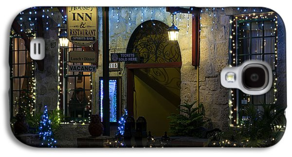 Olde Inn At Christmas Galaxy S4 Case by Kenneth Albin