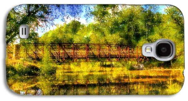 Olde Rope Mill Bridge Galaxy S4 Case