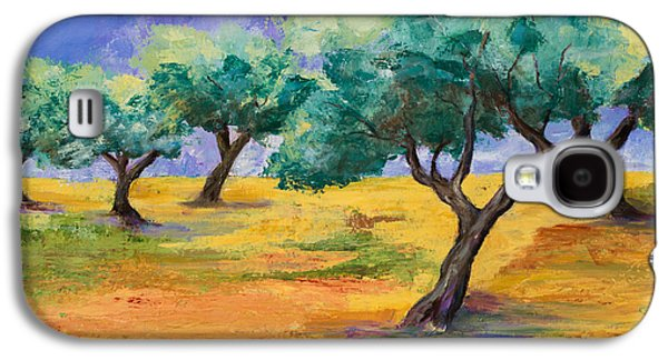 Olive Trees Grove Galaxy S4 Case by Elise Palmigiani