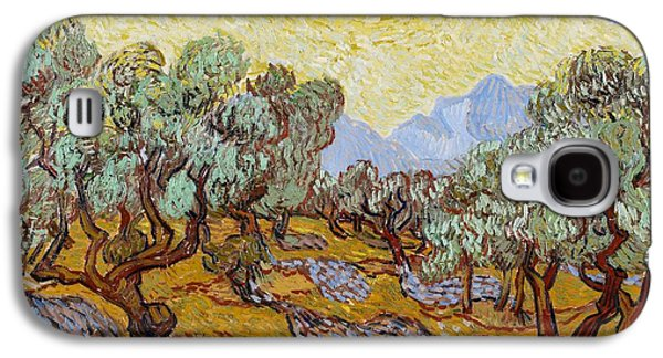 Olive Trees Galaxy S4 Case by Vincent Van Gogh