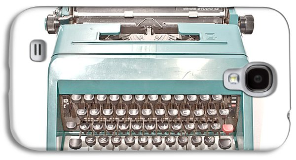 Olivetti Typewriter 1 Galaxy S4 Case by Pittsburgh Photo Company