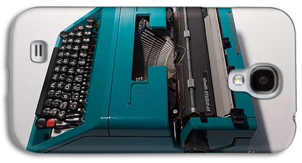 Olivetti Typewriter 10 Galaxy S4 Case by Pittsburgh Photo Company