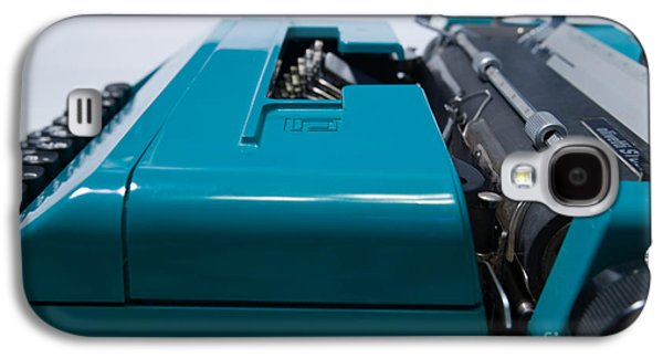 Olivetti Typewriter 12 Galaxy S4 Case by Pittsburgh Photo Company