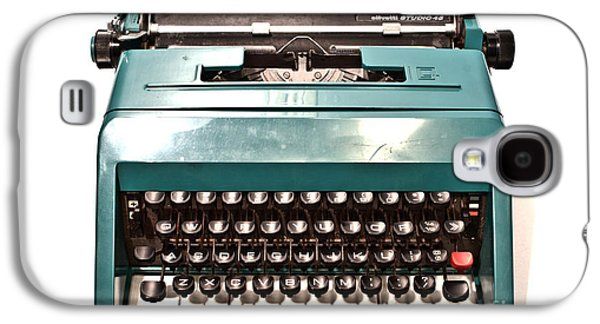 Olivetti Typewriter 13 Galaxy S4 Case by Pittsburgh Photo Company