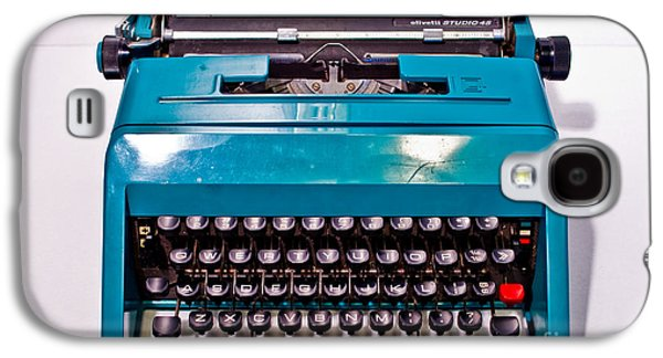 Olivetti Typewriter 2 Galaxy S4 Case by Pittsburgh Photo Company