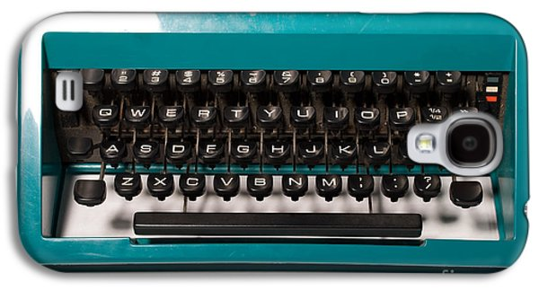 Olivetti Typewriter 4 Galaxy S4 Case by Pittsburgh Photo Company