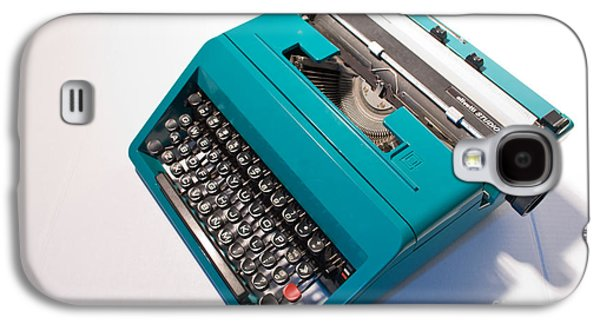 Olivetti Typewriter 7 Galaxy S4 Case by Pittsburgh Photo Company