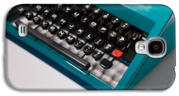 Olivetti Typewriter Soft Focus Galaxy S4 Case by Pittsburgh Photo Company