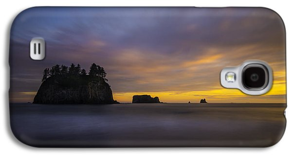 Olympic Coast Sunset Galaxy S4 Case by Larry Marshall