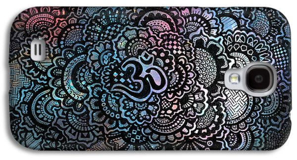 Decorative Galaxy S4 Case - Om Sweet Om by Andrea Stephenson