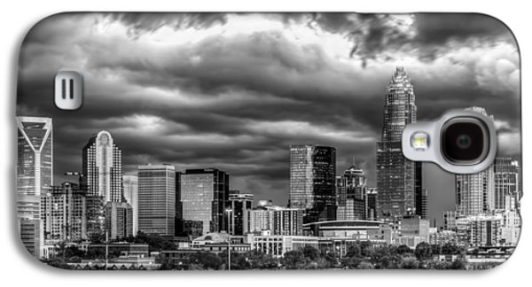 Charlotte Galaxy S4 Case - Ominous Charlotte Sky by Chris Austin