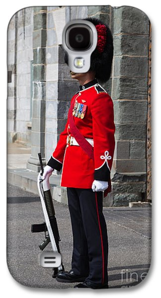 On Guard Quebec City Galaxy S4 Case by Edward Fielding