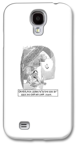 On Hold, Rick Listens To 'as Time Goes By' Galaxy S4 Case