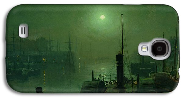 On The Clyde, Glasgow, 1879 Galaxy S4 Case by John Atkinson Grimshaw