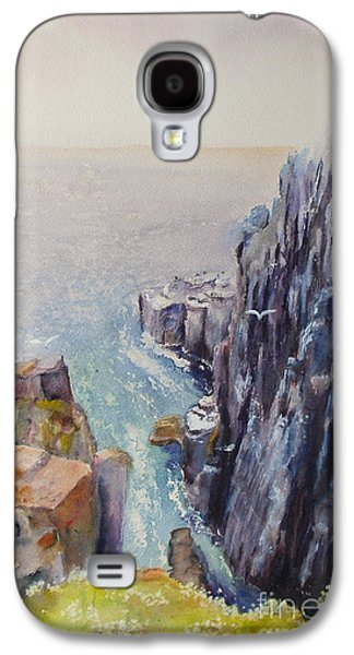 On The Edge Of The Cliff Galaxy S4 Case by Beatrice Cloake