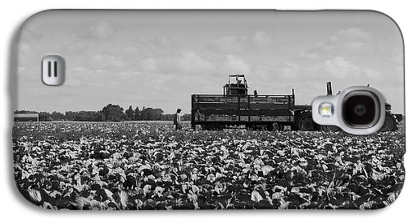 Galaxy S4 Case featuring the photograph On The Farm by Ricky L Jones