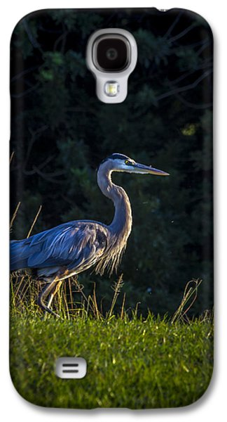 Egret Galaxy S4 Case - On The March by Marvin Spates