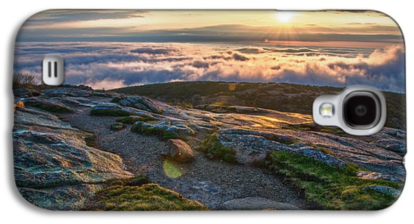 On The Mountain Galaxy S4 Case by Kristopher Schoenleber
