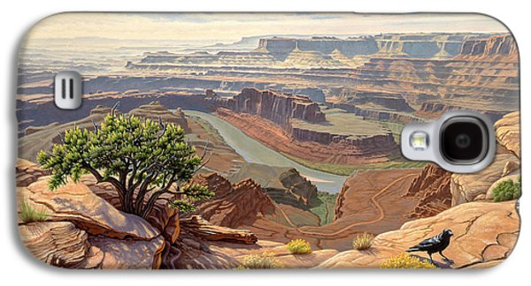 Raven Galaxy S4 Case - On The Rim-dead Horse Point by Paul Krapf