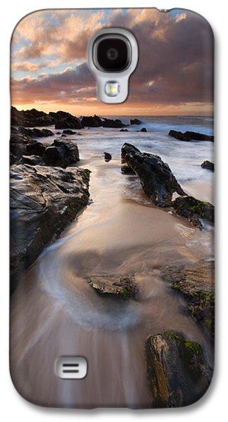 On The Rocks Galaxy S4 Case by Mike  Dawson