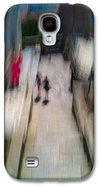 Galaxy S4 Case featuring the photograph On The Stairs by Alex Lapidus