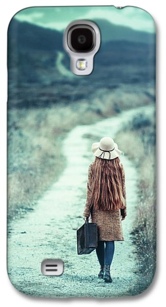 Travel Galaxy S4 Case - On The Way by Magdalena Russocka