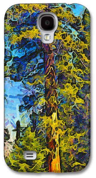 One Giant Abstract Sequoia Galaxy S4 Case by Barbara Snyder