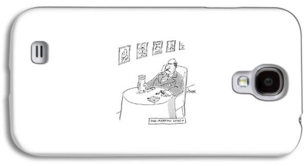 One-martini Lunch Galaxy S4 Case